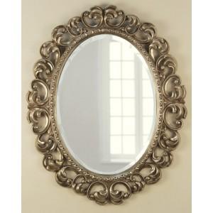 Зеркало резное в овальной раме
