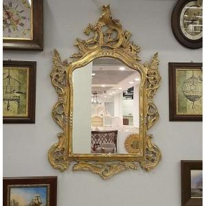 Зеркало резное в золотой раме – VILLANOVA - H 911