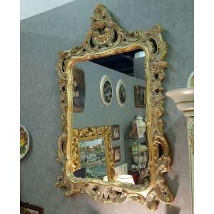 Зеркало резное в золотой раме – VILLANOVA - H 912