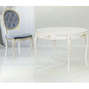 Обеденный, круглый, раскладной стол – Линда